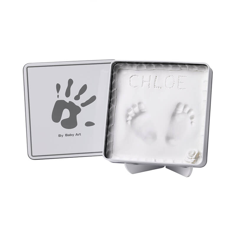 Baby Art Magic Box Quadrado White e Grey