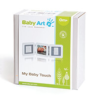 Baby Art My Baby Touch Triplo White e Grey