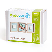 Baby Art My Baby Touch Triplo de Madeira Stormy